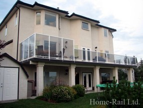Aluminum Deck Railing in Calgary